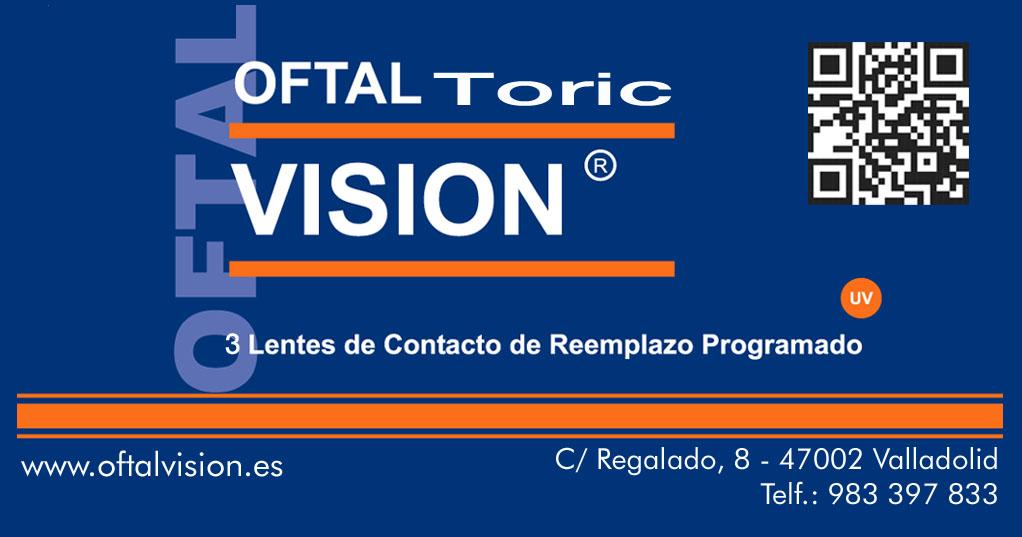 6487aa1249 Lentes de Contacto Mensual Tórica 55% H2O – Filtro UV | | Oftalvision
